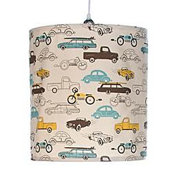 Glenna Jean Traffic Jam Cars Hanging Drum Shade Kit