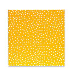 Glenna Jean Traffic Jam Canvas Wall Art in Yellow Dot
