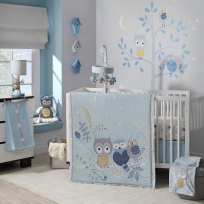 Lambs Ivy Night Owl Crib Bedding Collection Bed Bath And Beyond Canada