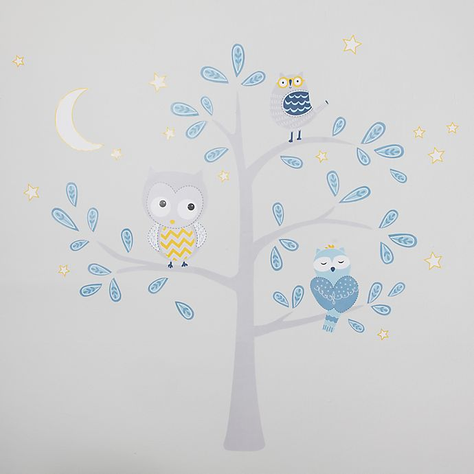 Alternate image 1 for Lambs & Ivy® Night Owl Jumbo Wall Decals
