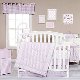 Trend Lab® Orchid Bloom Crib Bedding Collection