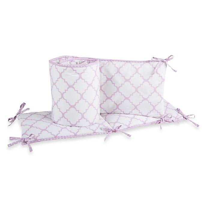 Trend Lab 174 Orchid Bloom 4 Piece Crib Bumper Set Buybuy Baby