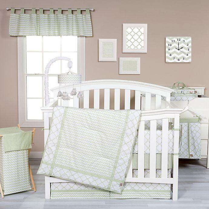 Alternate image 1 for Trend Lab® Sea Foam Crib Bedding Collection