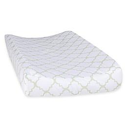 Trend Lab® Sea Foam Quatrefoil Changing Pad Cover