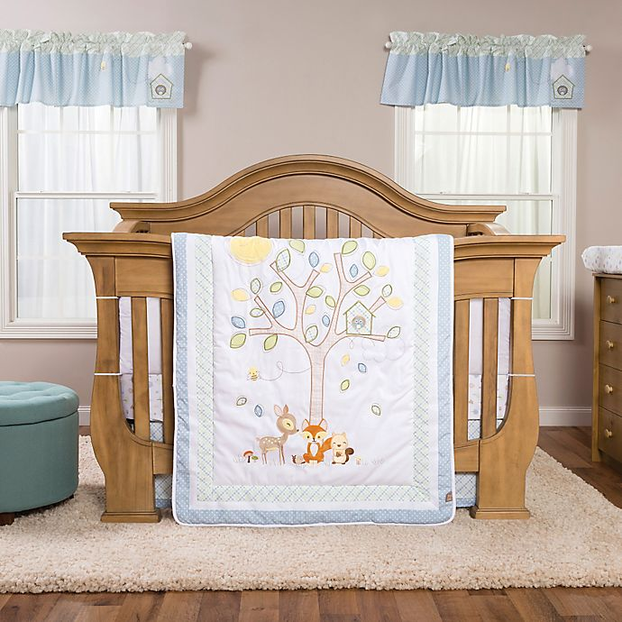 Alternate image 1 for Trend Lab® Forest Tales 6-Piece Crib Bedding Set