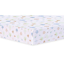 Trend Lab® Forest Tales Animal Fitted Crib Sheet