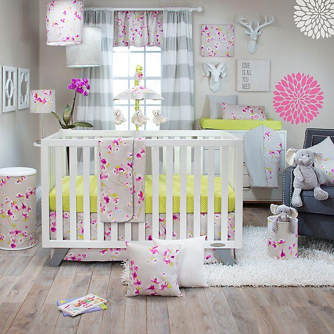 Glenna Jean Blossom 3 Piece Crib Bedding Set Bed Bath