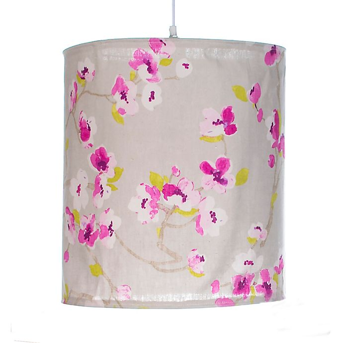 Alternate image 1 for Glenna Jean Blossom Floral Hanging Drum Shade Kit