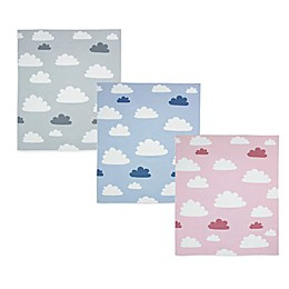 Weegoamigo Sky High Cotton Knit Baby Blanket