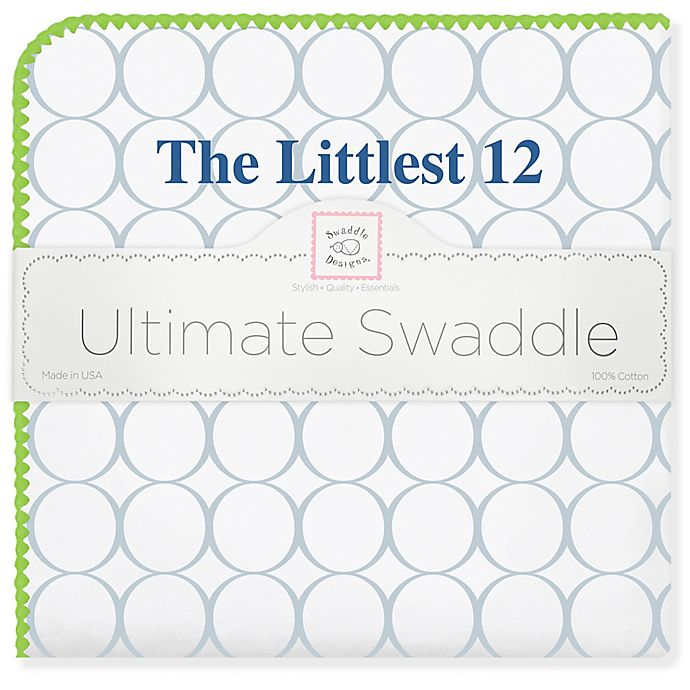 Alternate image 1 for Swaddle Designs® Seahawks Littlest 12 Ultimate Swaddle