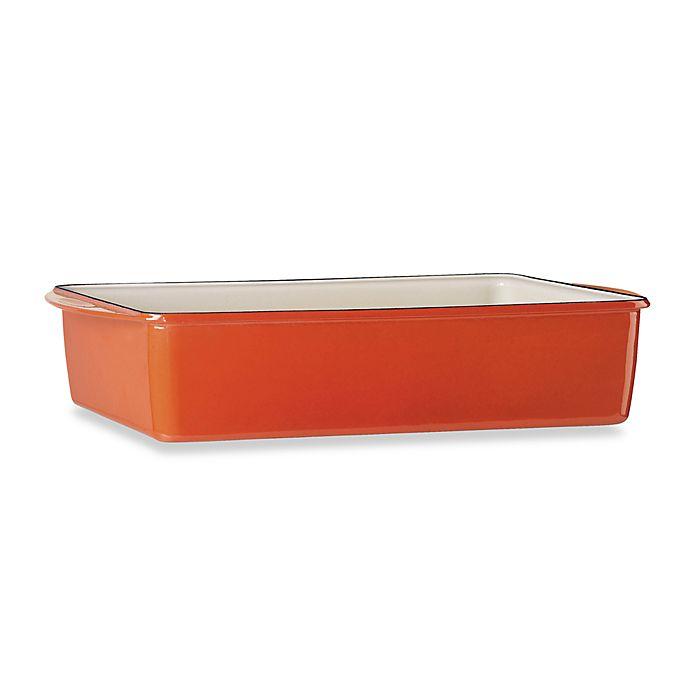 Mario Batali Extra Deep Lasagna Pan Persimmon