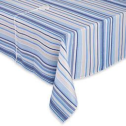Sam Hedaya Monaco Indoor/Outdoor Stripe Tablecloth