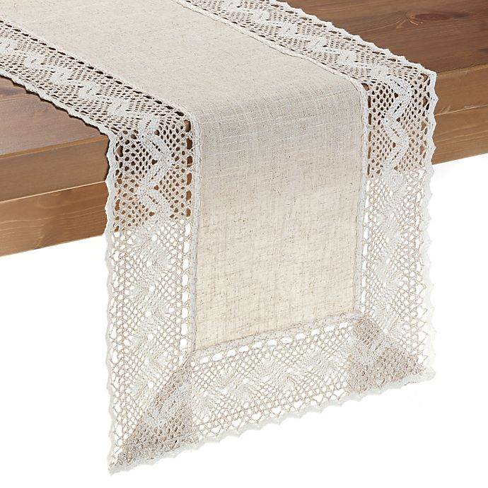 Alternate image 1 for Pebble Lace Table Runner