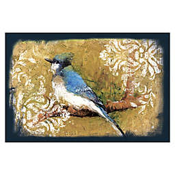 Pied Piper Creative Bluebird On A Branch 36-Inch x 24-Inch Canvas Wall Art