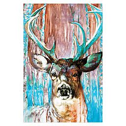 Pied Piper Creative Beautiful Buck 24-Inch x 36-Inch Canvas Wall Art