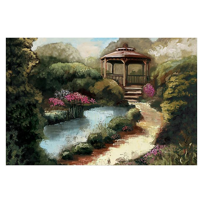Alternate image 1 for Pied Piper Creative Garden Gazebo 36-Inch x 24-Inch Canvas Wall Art
