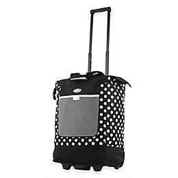 Olympia® USA Poke-A-Dot 20-Inch Rolling Shopper Tote