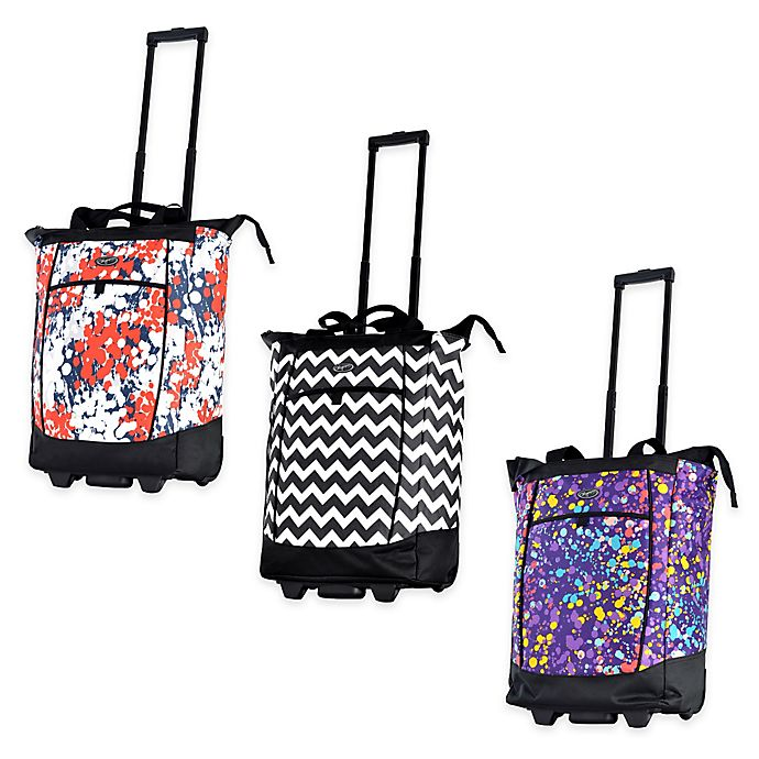 Alternate image 1 for Olympia® USA Fashionista 20-Inch Rolling Shopper Tote