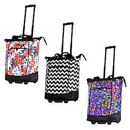 Olympia® USA Fashionista 20-Inch Rolling Shopper Tote