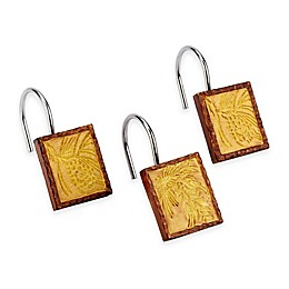 Avanti Adirondack Pine Shower Curtain Hooks (Set of 12)