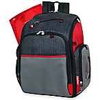Fisher-Price® Deluxe FastFinder™ Backpack Diaper Bag in Black