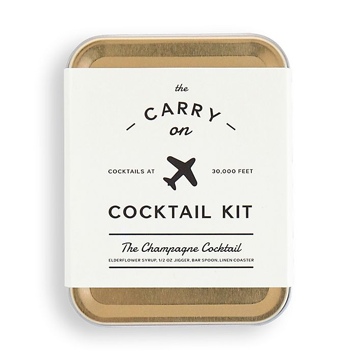 Alternate image 1 for The Carry On Champagne Cocktail Kit