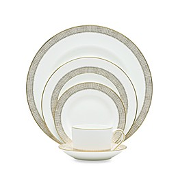 Vera Wang Wedgwood® Gilded Weave Gold 5-Piece Place Setting