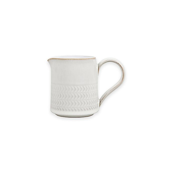 Alternate image 1 for Denby Natural Canvas Textured Small Jug