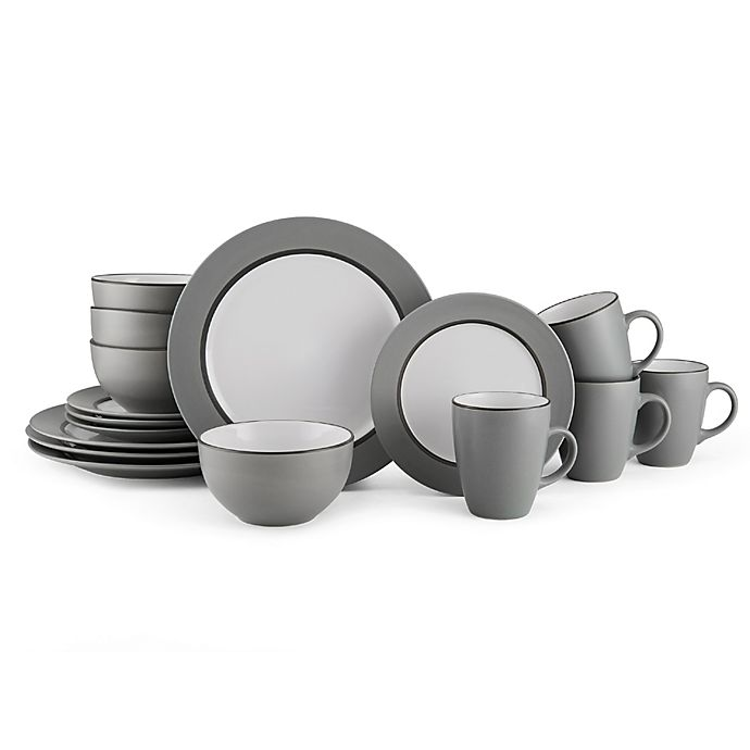 Alternate image 1 for Pfaltzgraff® Grayson 16-Piece Dinnerware Set