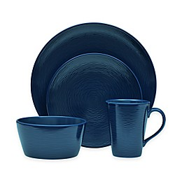 Noritake® Navy on Navy Swirl Round Dinnerware Collection