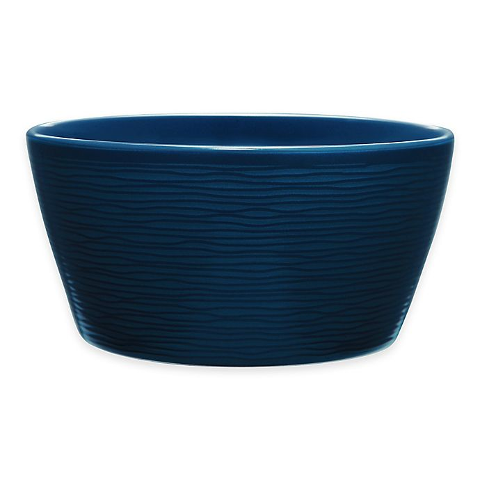 Alternate image 1 for Noritake® Navy on Navy Swirl Soup/Cereal Bowl