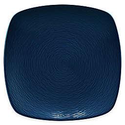 Noritake® Navy on Navy Swirl Square Dinner Plate