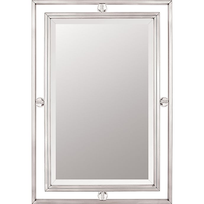 Alternate image 1 for Quoizel 22-Inch x 32-Inch Downtown Mirror