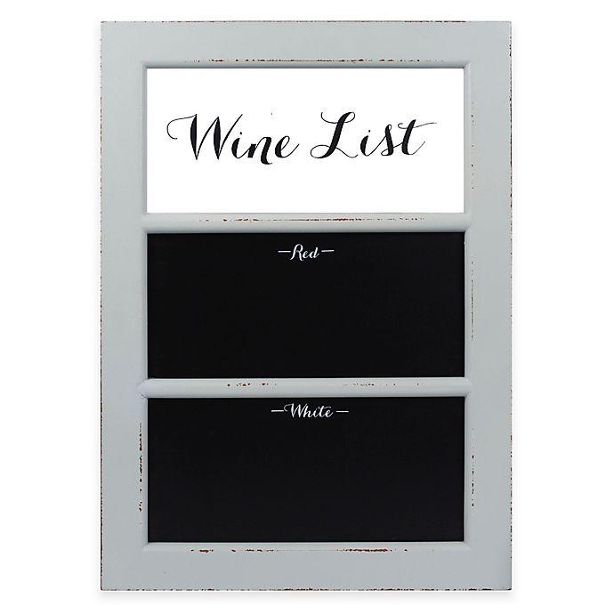 Alternate image 1 for Enchante Accessories Black Board Wine List Wall Art