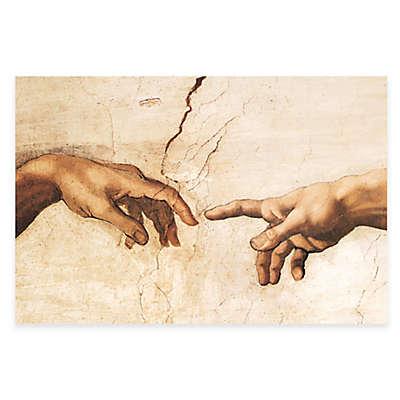 Michelangelo Creation of Adam Detail Wall Art
