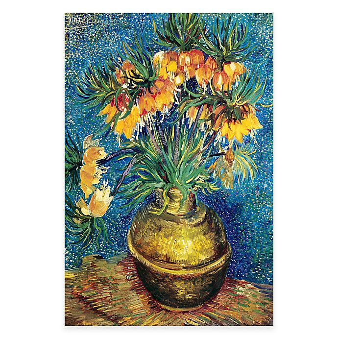 Alternate image 1 for Vincent Van Gogh Vase with Flowers Canvas Wall Art