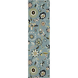 Safavieh Four Seasons 2-Foot 6-Inch x 4-Foot Accent Rug in Blue Multi