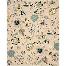 Safavieh Four Seasons 6-Foot Square Rug in Ivory/Blue