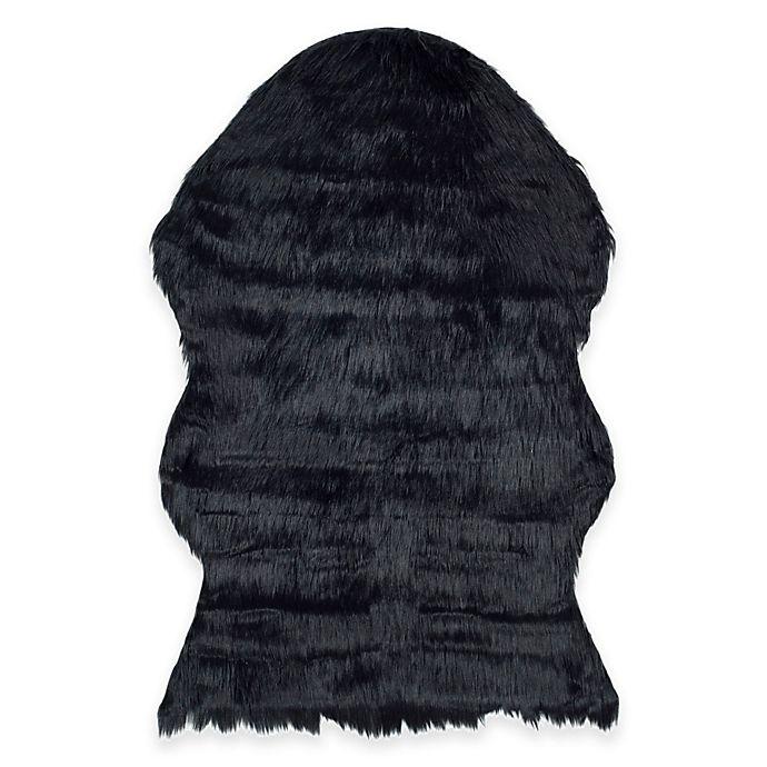 Alternate image 1 for Safavieh Faux Sheep Skin Hide Rug