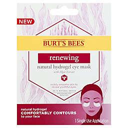 Burt's Bees® Natural Hydrogel Renewing Eye Mask