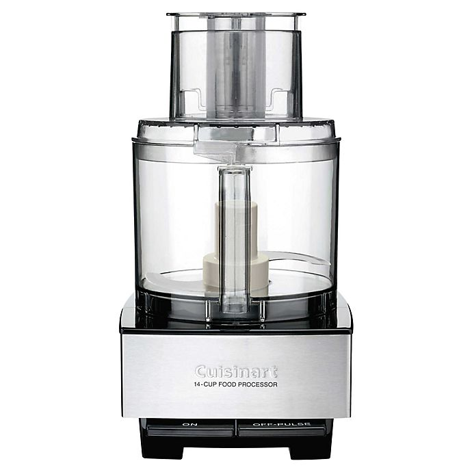 Alternate image 1 for Cuisinart® 14-Cup Custom Food Processor in Brushed Stainless Steel
