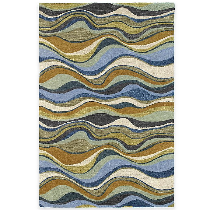 Alternate image 1 for Kaleen Casual Alder 7-Foot 6-Inch x 9-Foot Area Rug in Blue