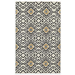 Kaleen Nomad Tribal Rug in Charcoal