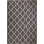 Dakota 5-Foot x 7-Foot Area Rug in Grey/White