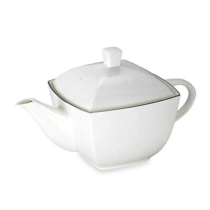 Alternate image 1 for Mikasa® Couture Platinum Teapot