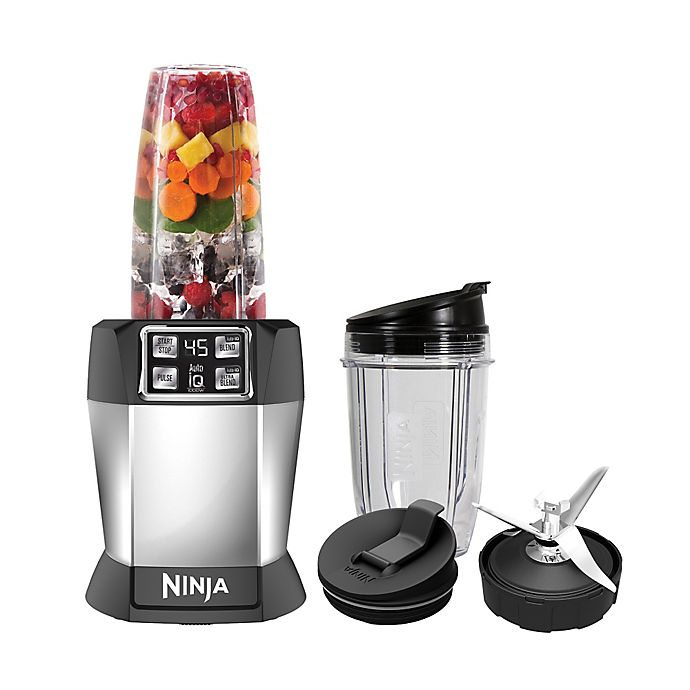 Alternate image 1 for Nutri Ninja® 8-Piece One-Touch Intelligence Extractor Blender Set with Auto-iQ™