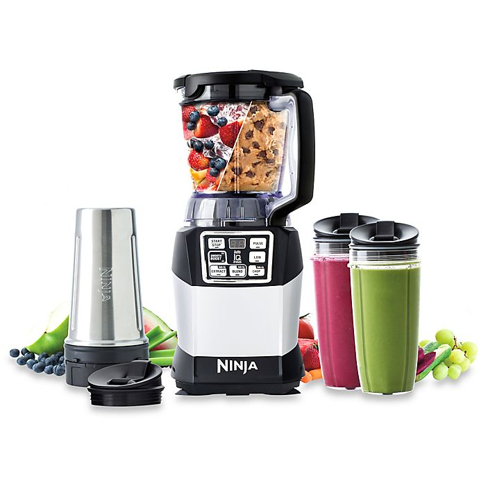 Alternate image 1 for Nutri Ninja® 40 oz. Compact Blender System with Auto-iQ™