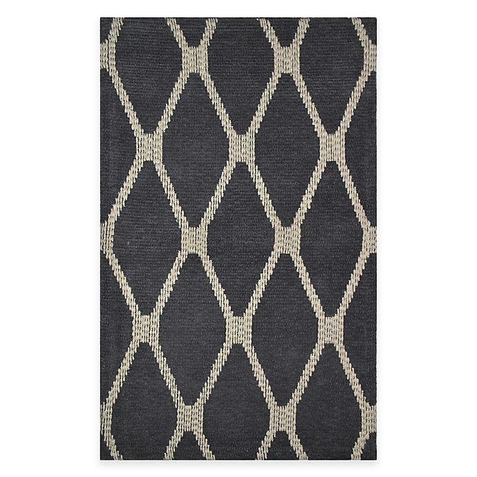 Alternate image 1 for Diamond Woven Tapestry Rug
