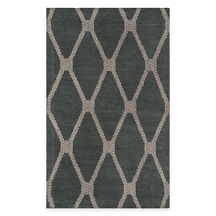 Alternate image 1 for Diamond 1-Foot 9-Inch x 2-Feet 10-Inch Woven Tapestry Rug in Blue