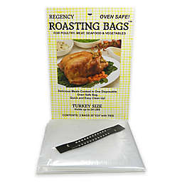 Regency 2-Pack Turkey Roasting Bags with Oven-Safe Twist Ties